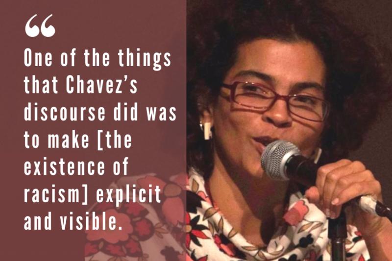 Ines Perez-Wilke, university professor and activist. (Venezuelanalysis)